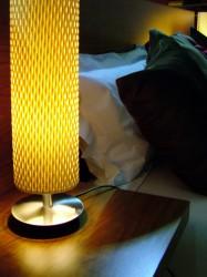 Светильники в стиле модерн в спальне