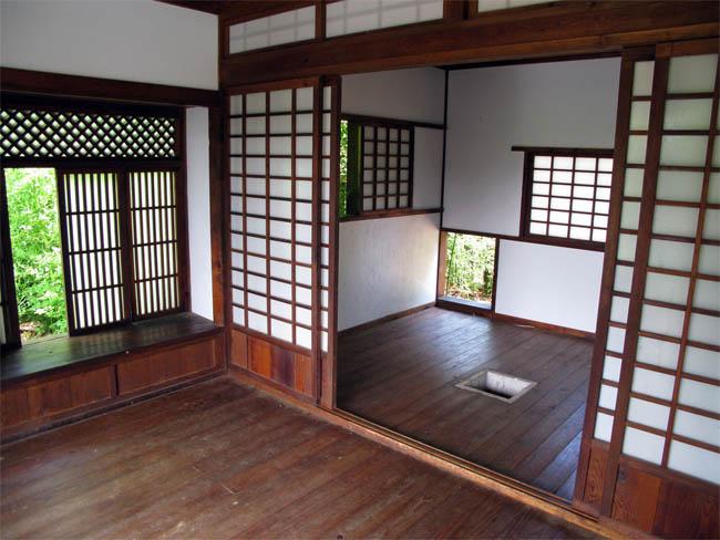Японский интерьер. Фото.