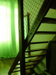 Простая деревянная лестница