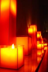 Свечи в дизайне интерьфера