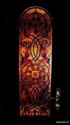 Декор витражом межкомнатной двери — фото 6