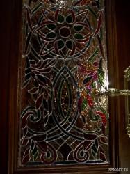 Декор витражом межкомнатной двери — фото 2