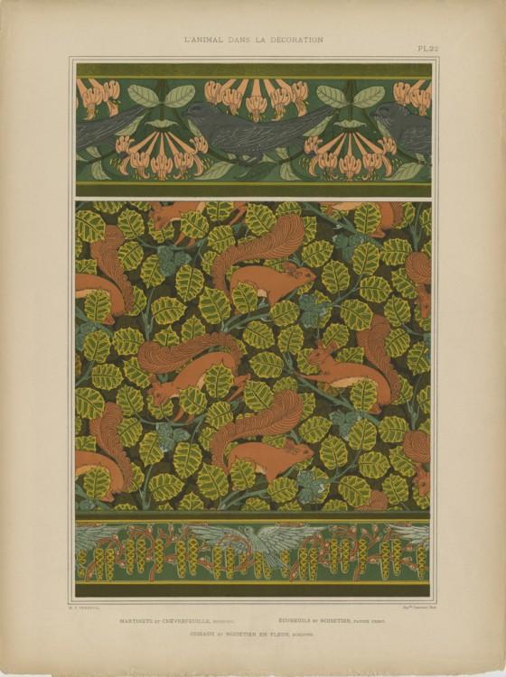 Верней и Грассе - Животные в декоре