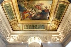 Фото отделки потолка в Лувре — фото 31