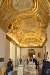 Фото росписи потолка в Лувре — фото 7