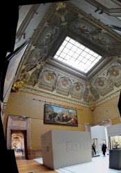 Фото росписи потолка в Лувре — фото 16