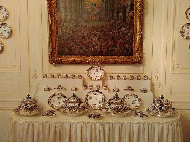 Поместье Уоддесдон - коллекция фарфора