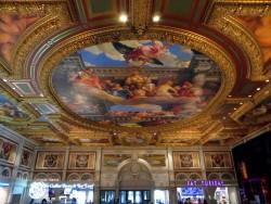 Роспись потолка в отеле Венения в Лас-Вегасе