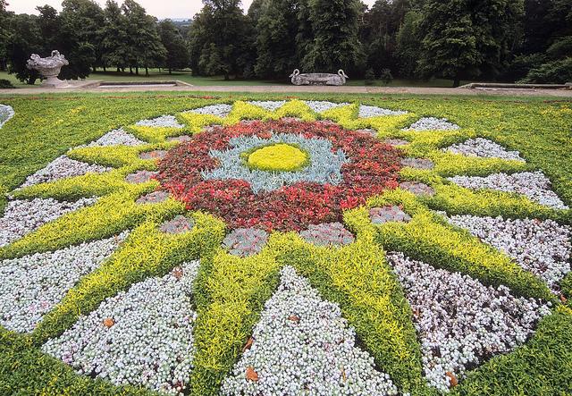 Поместье Уоддесдон - сад
