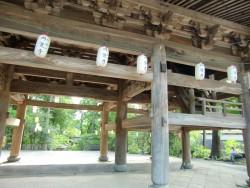Деревянный потолок в храме Энгакудзи — фото 1