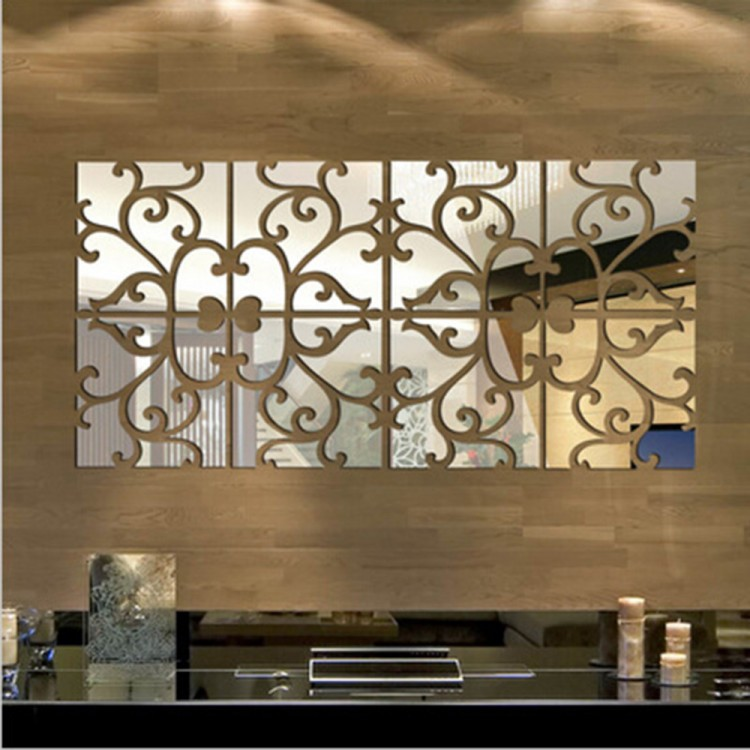 Декор из зеркал в стиле модерн. Купить на Aliexpress.