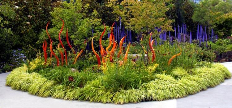 Стеклянный сад Чихули