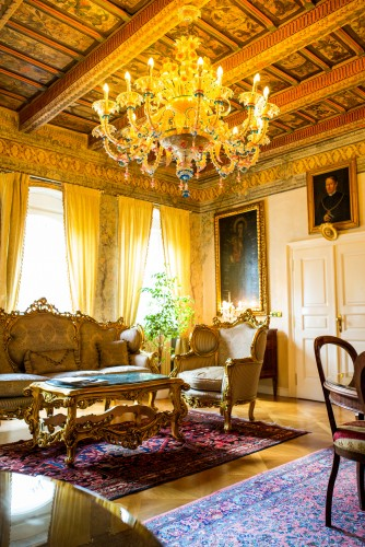 Интерьер отеля Алхимист в Праге — фото 4