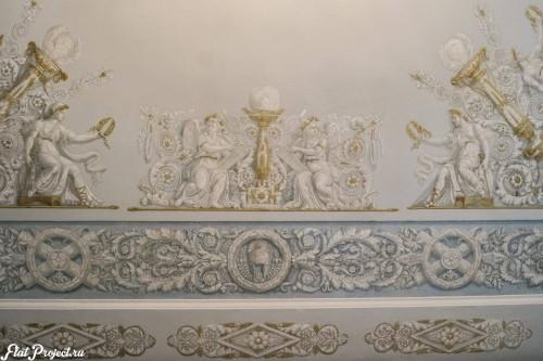 Потолки и декор в здании Главного штаба — фото 138