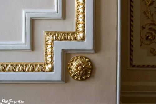 Потолки и декор в здании Главного штаба — фото 41