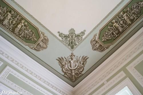 Потолки и декор в здании Главного штаба — фото 103
