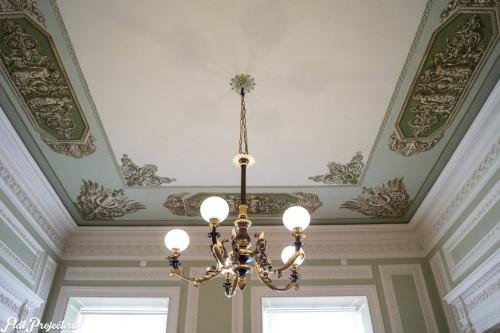 Потолки и декор в здании Главного штаба — фото 59