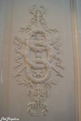 Потолки и декор в здании Главного штаба — фото 101
