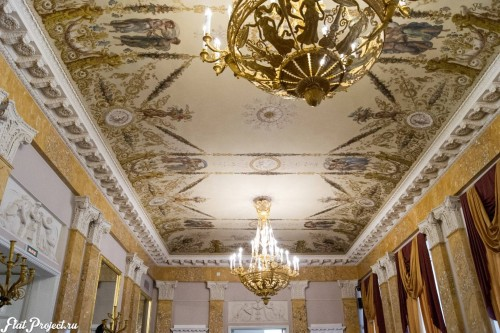 Потолки и декор в здании Главного штаба — фото 134