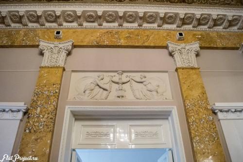 Потолки и декор в здании Главного штаба — фото 75