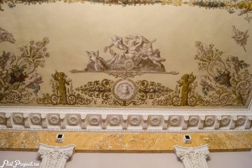 Потолки и декор в здании Главного штаба — фото 117