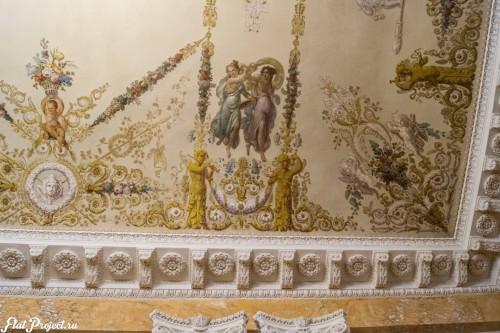 Потолки и декор в здании Главного штаба — фото 89