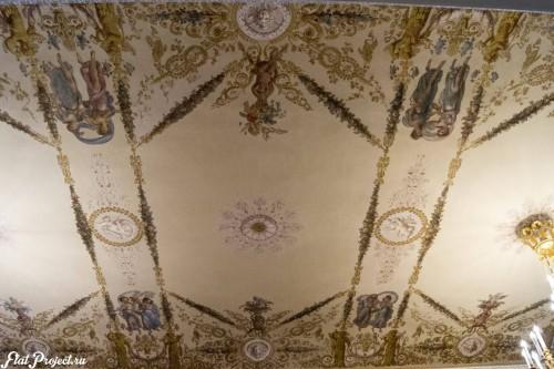 Потолки и декор в здании Главного штаба — фото 126