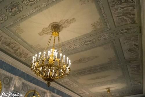Потолки и декор в здании Главного штаба — фото 88