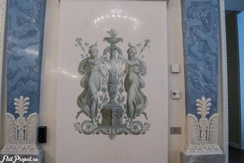 Потолки и декор в здании Главного штаба — фото 102