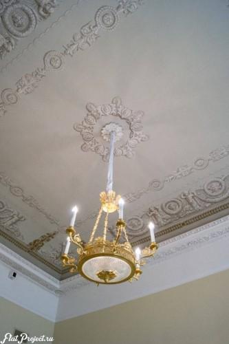 Потолки и декор в здании Главного штаба — фото 65