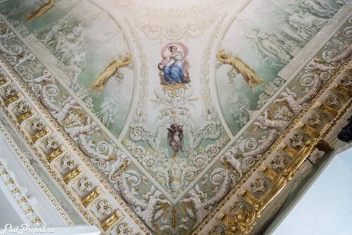 Потолки и декор в здании Главного штаба — фото 80