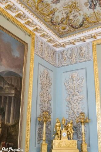 Потолки и декор в здании Главного штаба — фото 109