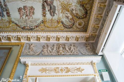 Потолки и декор в здании Главного штаба — фото 58