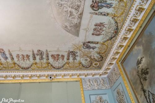 Потолки и декор в здании Главного штаба — фото 148
