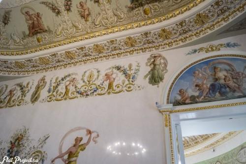 Потолки и декор в здании Главного штаба — фото 146