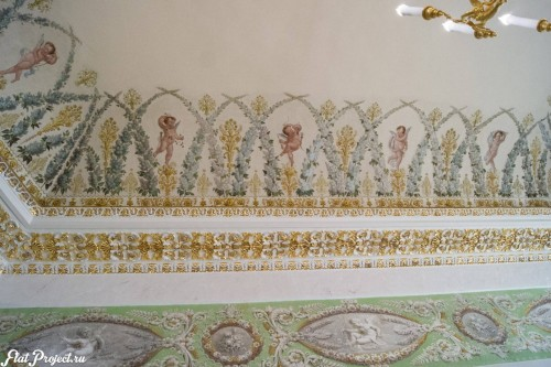 Потолки и декор в здании Главного штаба — фото 141