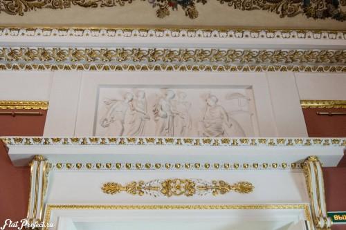 Потолки и декор в здании Главного штаба — фото 119