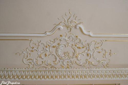 Потолки и декор в здании Главного штаба — фото 36