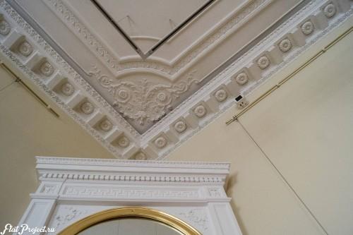 Потолки и декор в здании Главного штаба — фото 92