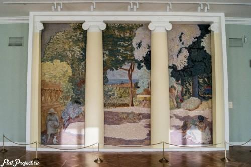 Потолки и декор в здании Главного штаба — фото 99
