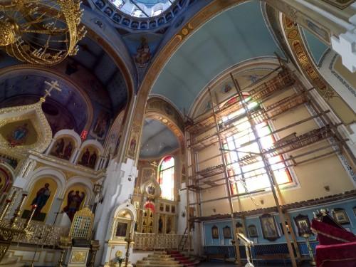 Декор Покровского собора в Гатчине — фото 3