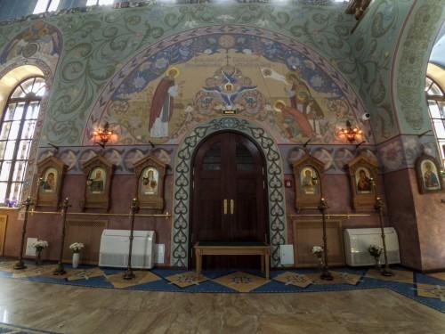 Декор церкви прп. Сергия Радонежского в Пушкине — фото 3