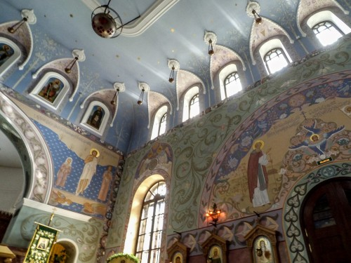 Декор церкви прп. Сергия Радонежского в Пушкине — фото 5