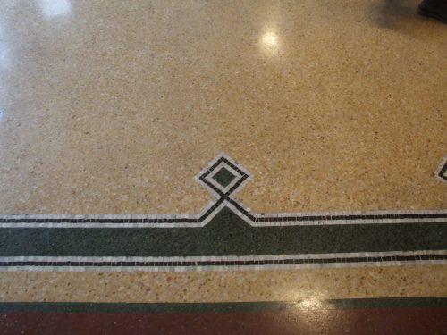 Мозаичный пол в Паласио Сальво — фото 1