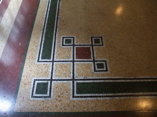 Мозаичный пол в Паласио Сальво — фото 2