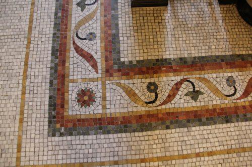 Мозаичный пол в законодательном собрании Онтарио