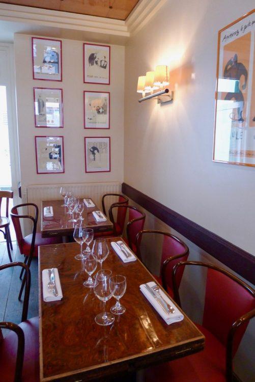 Декор ресторана l'Assiette