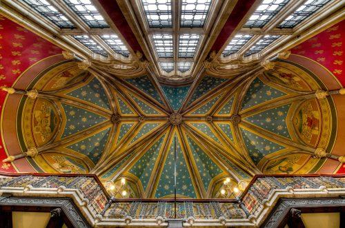 Потолок в отеле Сент-Панкрас Ренессанс