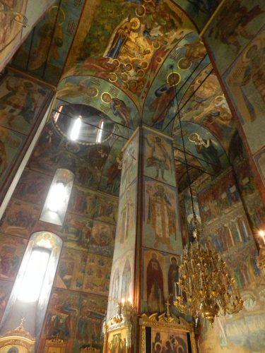 Роспись потолка в Троице-Сергиева лавре — фото 2