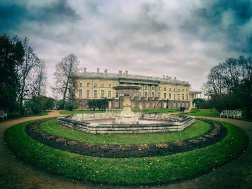 Собственный садик Екатерининского парка — фонтан